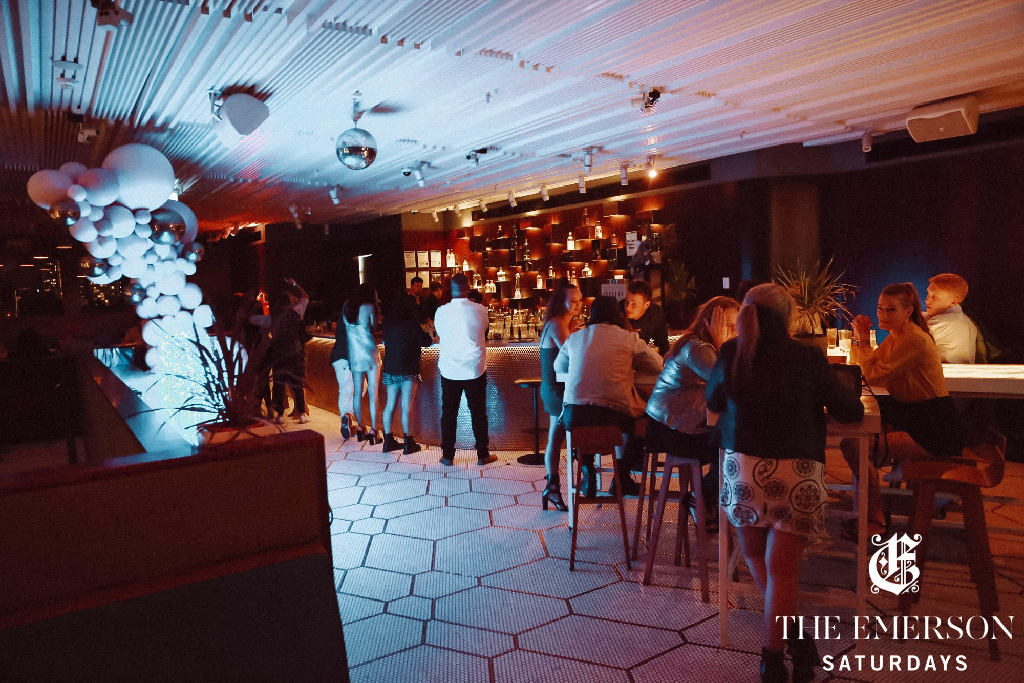 The Emerson rooftop bar and club